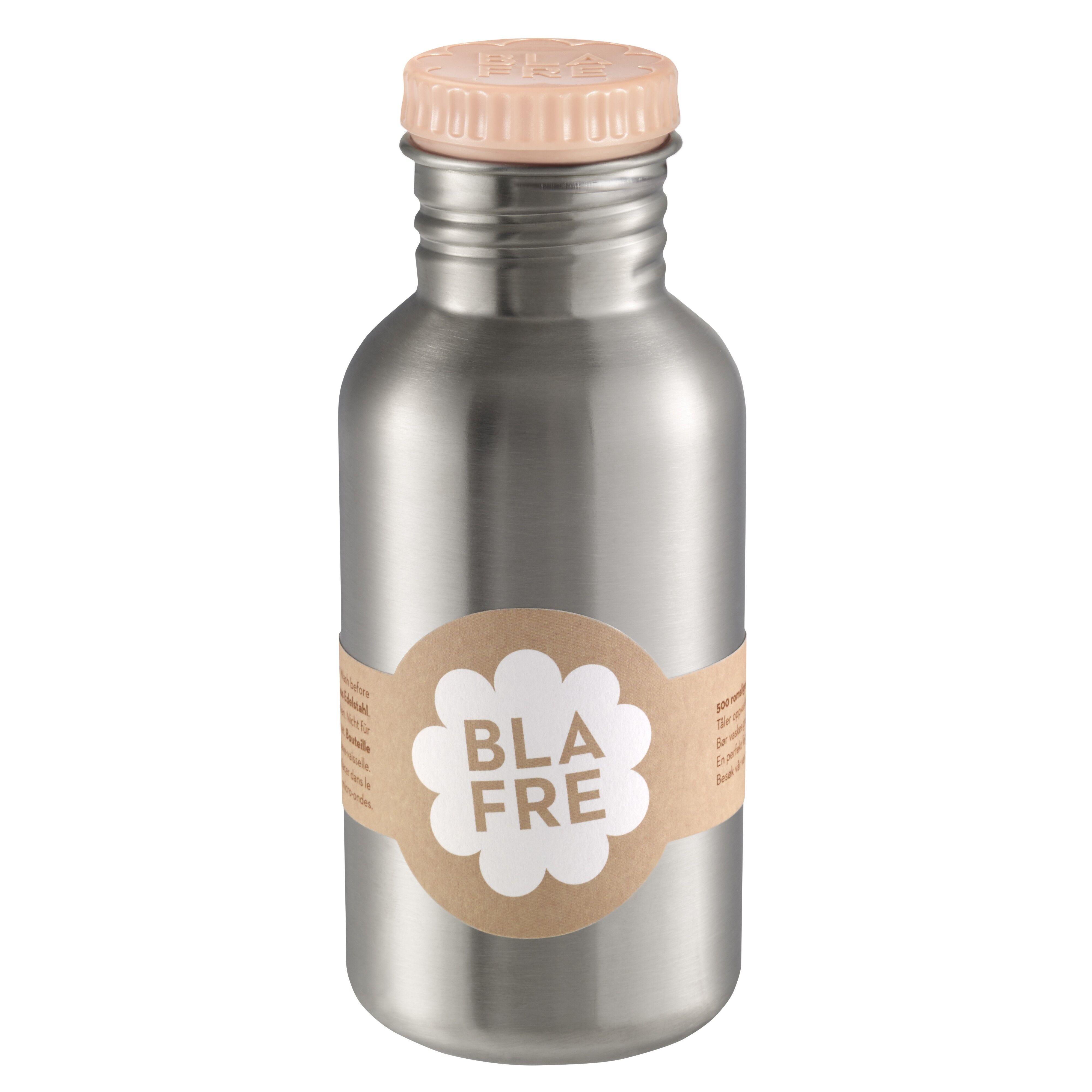 Blafre stålflaske til barn 500 ml. fersken