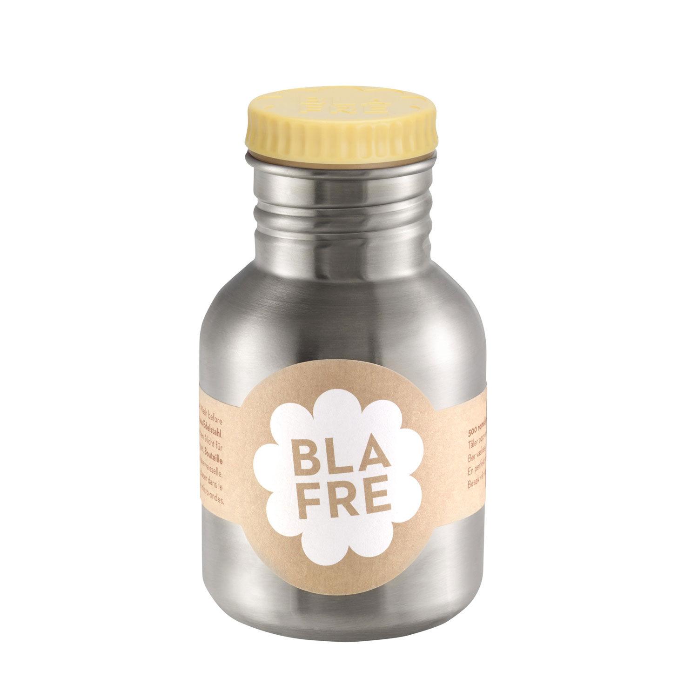 Blafre stålflaske til barn 300 ml. gul