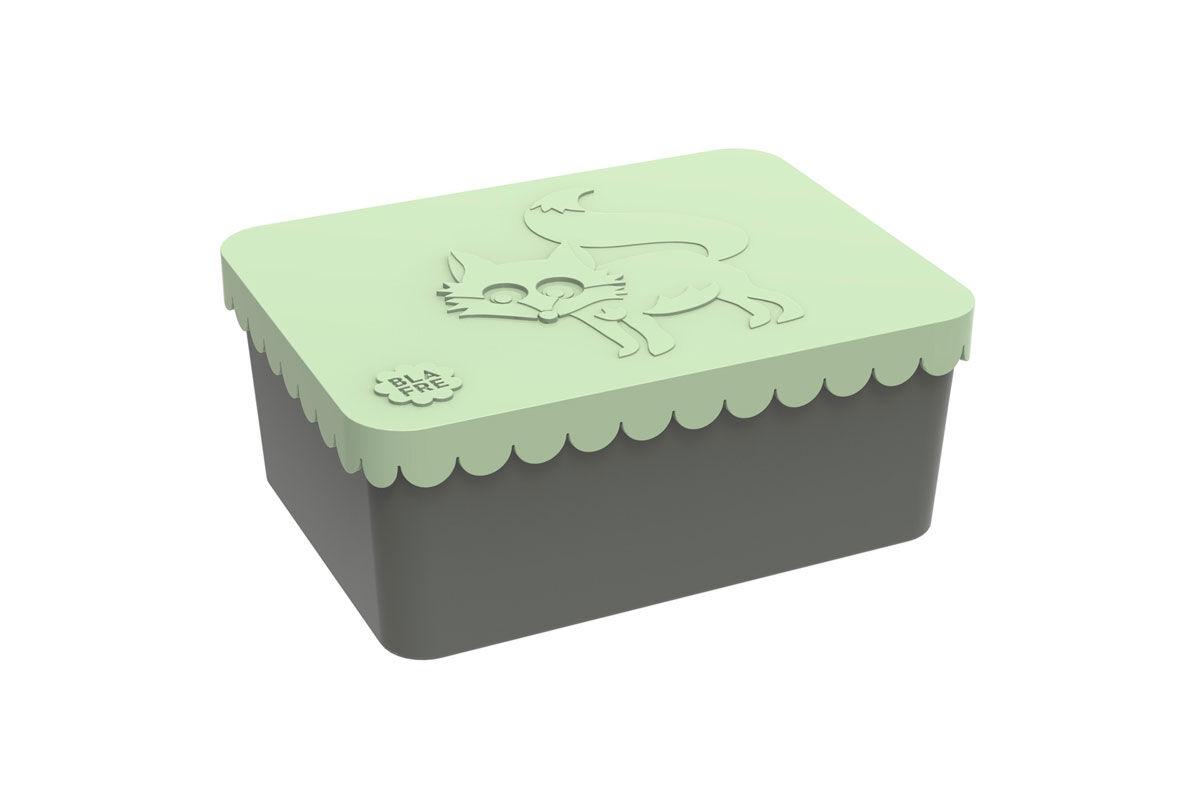 Blafre ett roms matboks med rev, mintgrønn