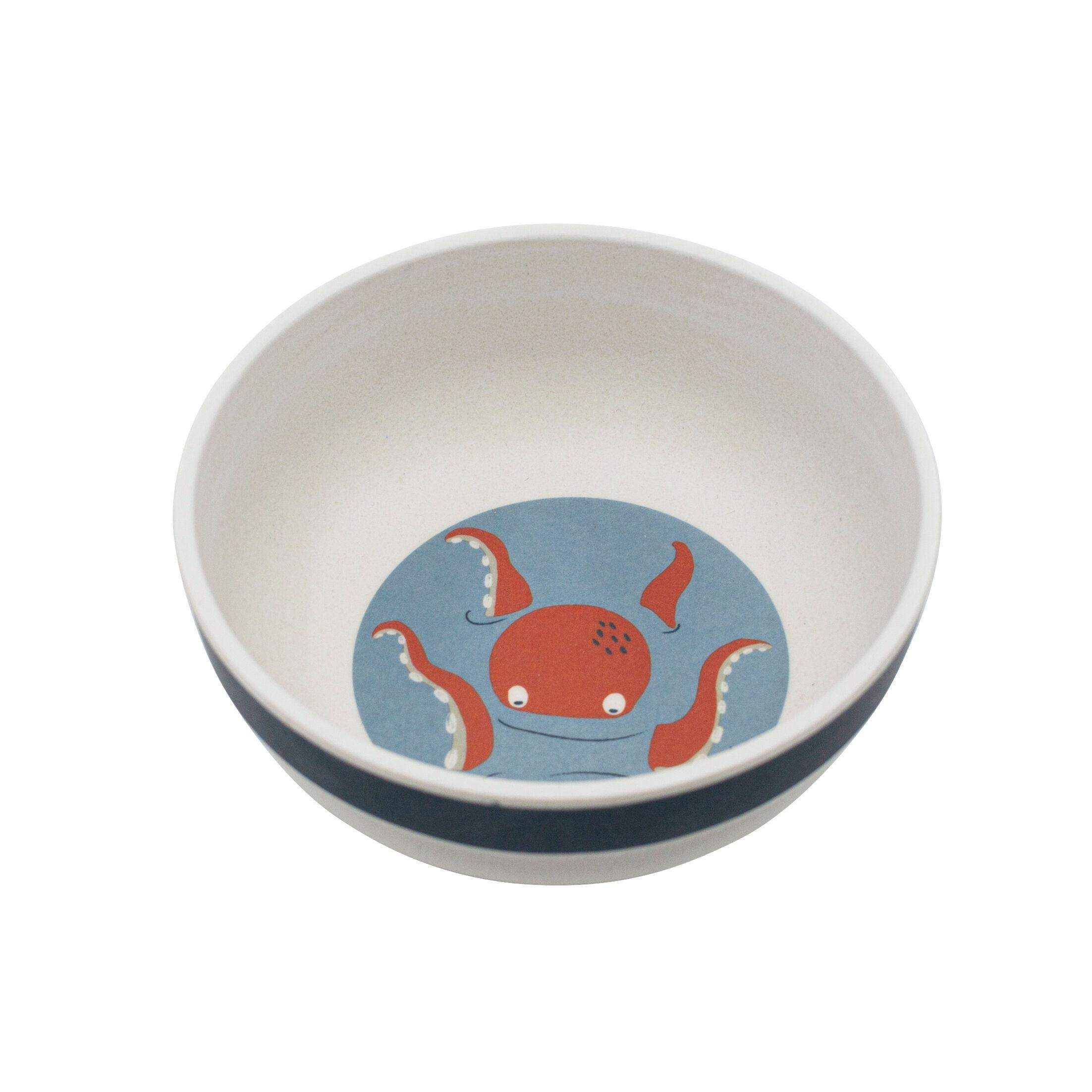 Sebra dyp tallerken til barn, seven seas