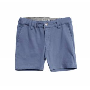 Wheat chinos shorts til gutt, blue denim