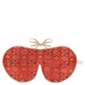 Holistic Silk Eye Mask Slipper Gift Set – Tibetan Orange (ulike størrelser) - S
