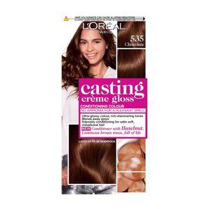 L'Oréal Paris Casting Crème Gloss Semi-Permanent Hair Dye (Various Shades) - 535 Chocolate