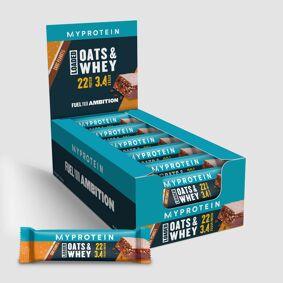 MyProtein Havre & Whey Proteinbar - Sjokolade og Peanøtt
