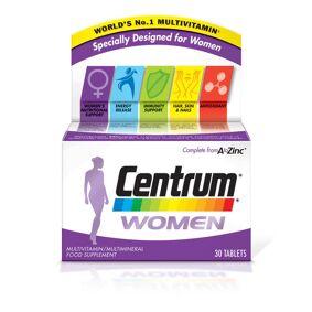 Centrum Women Multivitamin Tablets – (30 tabletter)