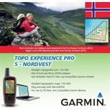 Garmin Topo Experience Pro 05 - Nordvest, Topo 1:50 000 Micro SD med Topografisk kart for Garmin GPS