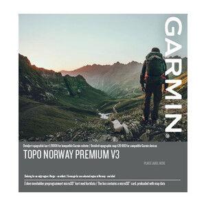 Garmin Topo Premium 4 v3 - Sentral øst 1:20 000 Micro SD med Topografisk kart for Garmin GPS