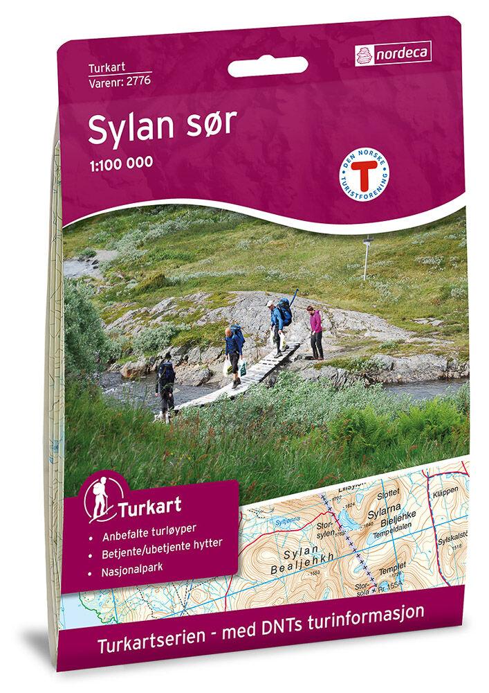 Statens Kartverk Sylan Sør Turkart - Lnr 2776