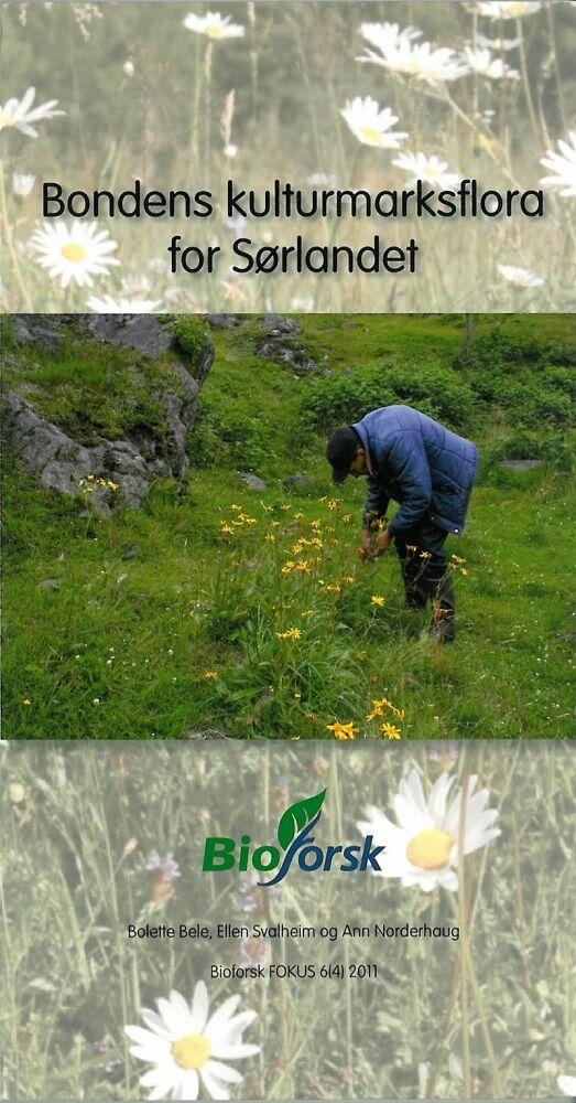NIBIO Bondens kulturmarksflora for Sørlandet