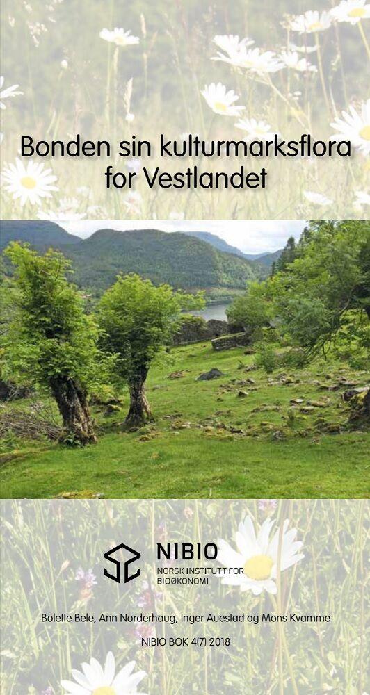NIBIO Bonden sin kulturmarksflora for Vestlandet
