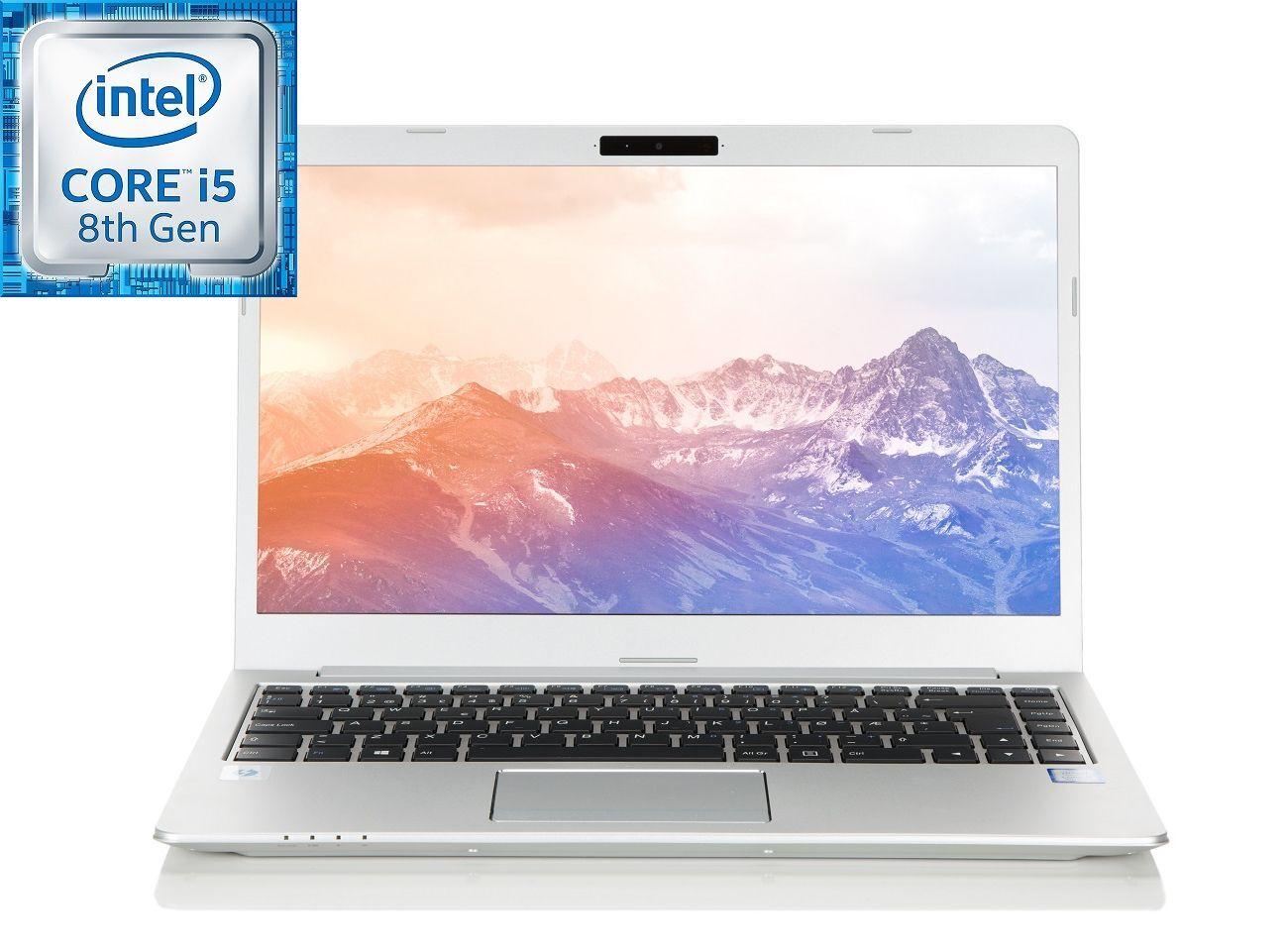 """Multicom Talisa U840 14"""" Full-HD WVA matt, 8. gen Intel Core i5-8250U, 8GB, 256GB PCIe SSD, 1TB HDD, Thunderbolt 3/USB-C, Uten operativsystem, 19mm, 1.4kg"""