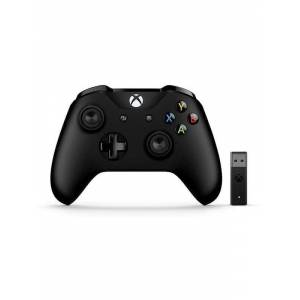 Microsoft Xbox Controller (V2) + Wireless Adapter for Windows 10 - Gamepad - Microsoft Xbox One S