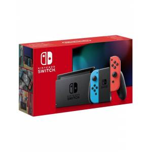 Nintendo Switch With Joy-Con - Neon Blue and Neon Red (New revised model)