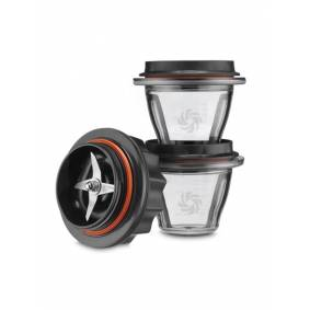 Vitamix Accessories Starter Kit with 2x225ml Bowls and Lids with base for Ascent - 0 W (accessories)