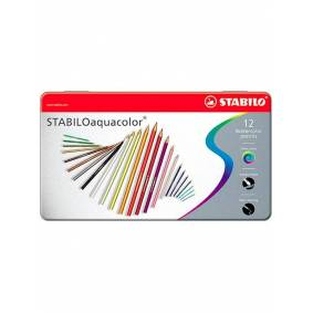 STABILO Aquacolor Aquarellable colored pencils