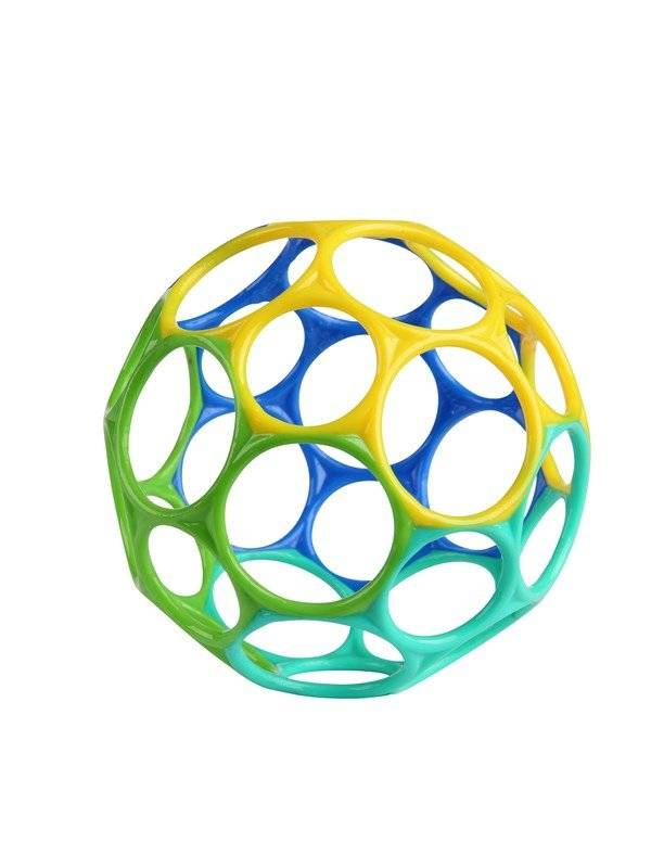 Oball Classic Easy-Grasp Toy - Blue/Green