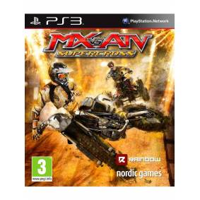 THQ MX Vs ATV: Supercross - Sony PlayStation 3 - Racing