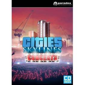 Paradox Interactive Cities: Skylines Expansion: Concerts - Mac - Simulator