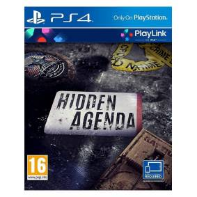 Sony Hidden Agenda - Sony PlayStation 4 - Eventyr