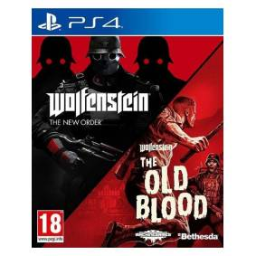 Bethesda Softworks Wolfenstein Double Pack - The New Order and The Old Blood - Sony PlayStation 4 - Action