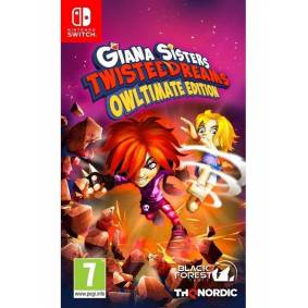 THQ Giana Sisters: Twisted Dreams - Owltimate Edition - Nintendo Switch - Platformer