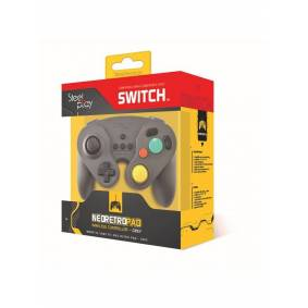 Steelplay Gcube Wireless Controller - Grey - Gamepad - Nintendo Switch