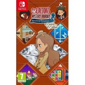 Nintendo Layton's Mystery Journey: Katrielle and the Millionaires' Conspiracy - Deluxe Edition - Nintendo Switch - Eventyr