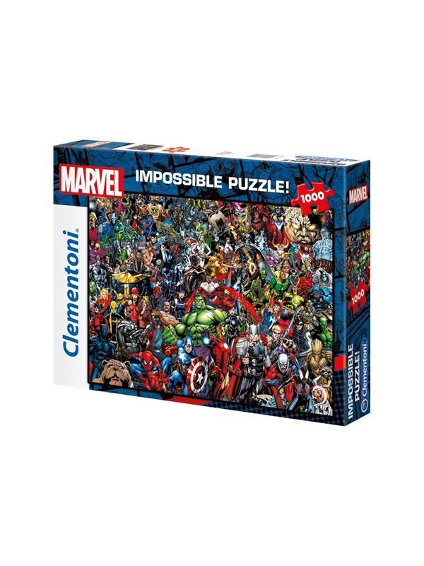 Clementoni Marvel Impossible Puzzle! Gulv