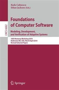 Foundations Of Computer Software