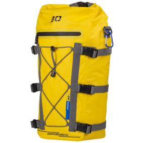 OVERBOARD Kayak Deck Bag, dekkbag STD Yellow