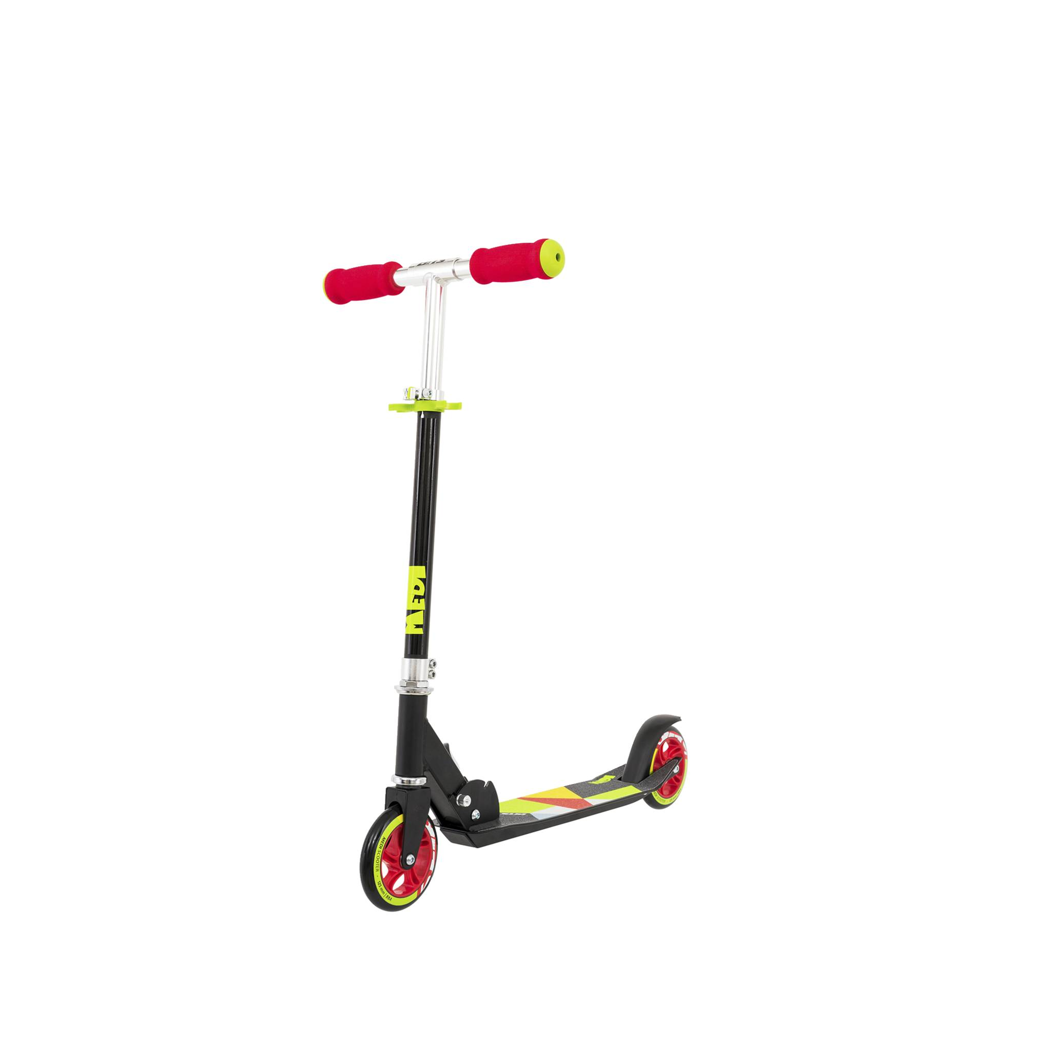 Medi scooter Black 125 mm, sparkesykkel 125mm