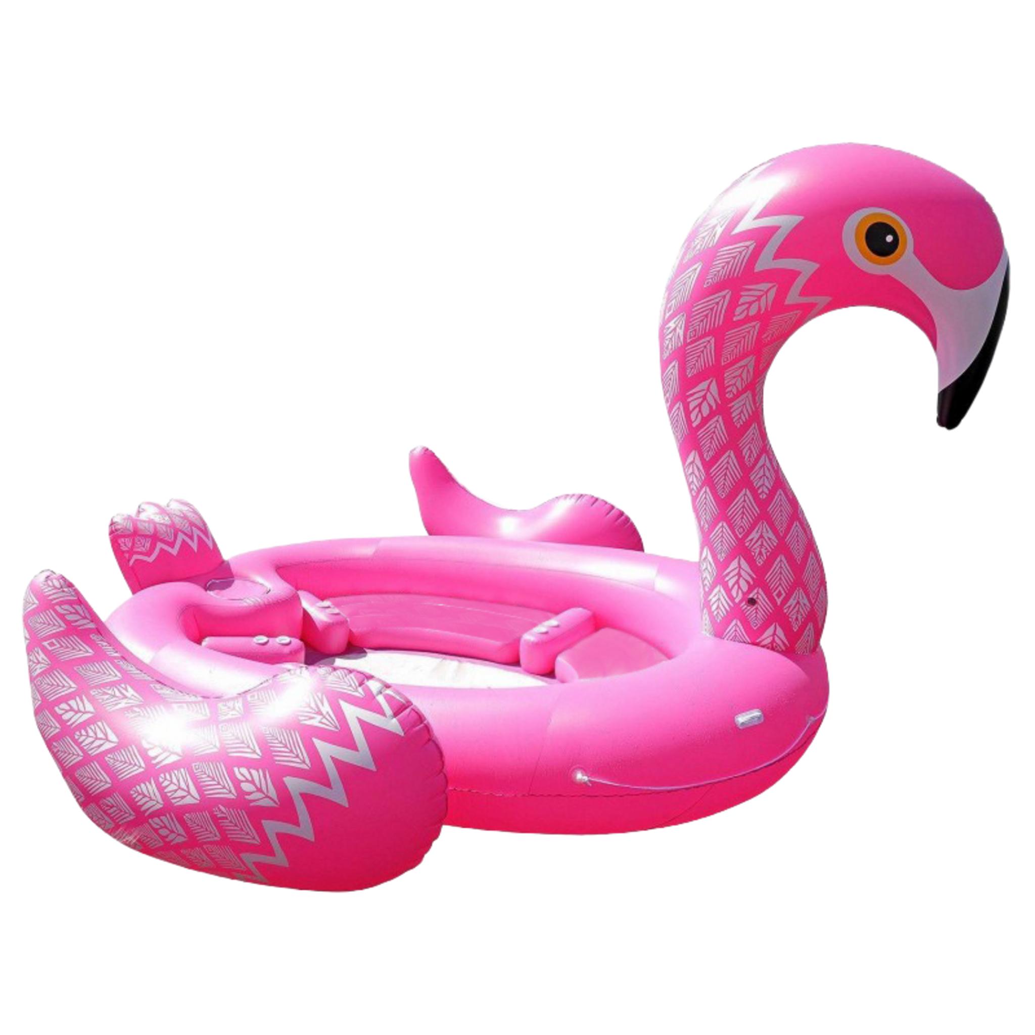 Flamingo Mega flamingo - 488 x 275 cm, luftmadrass
