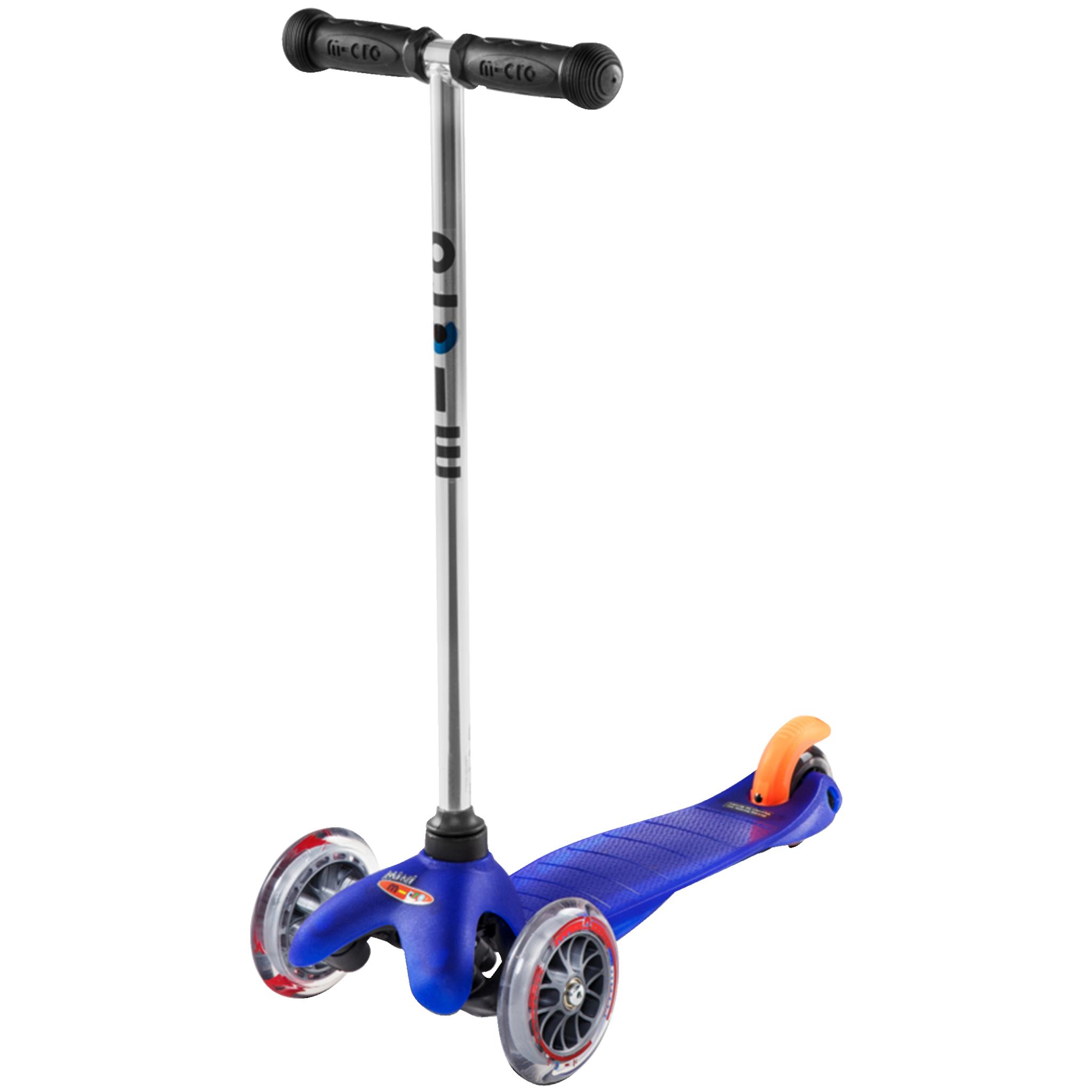 Micro Mini Blue, sparkesykkel