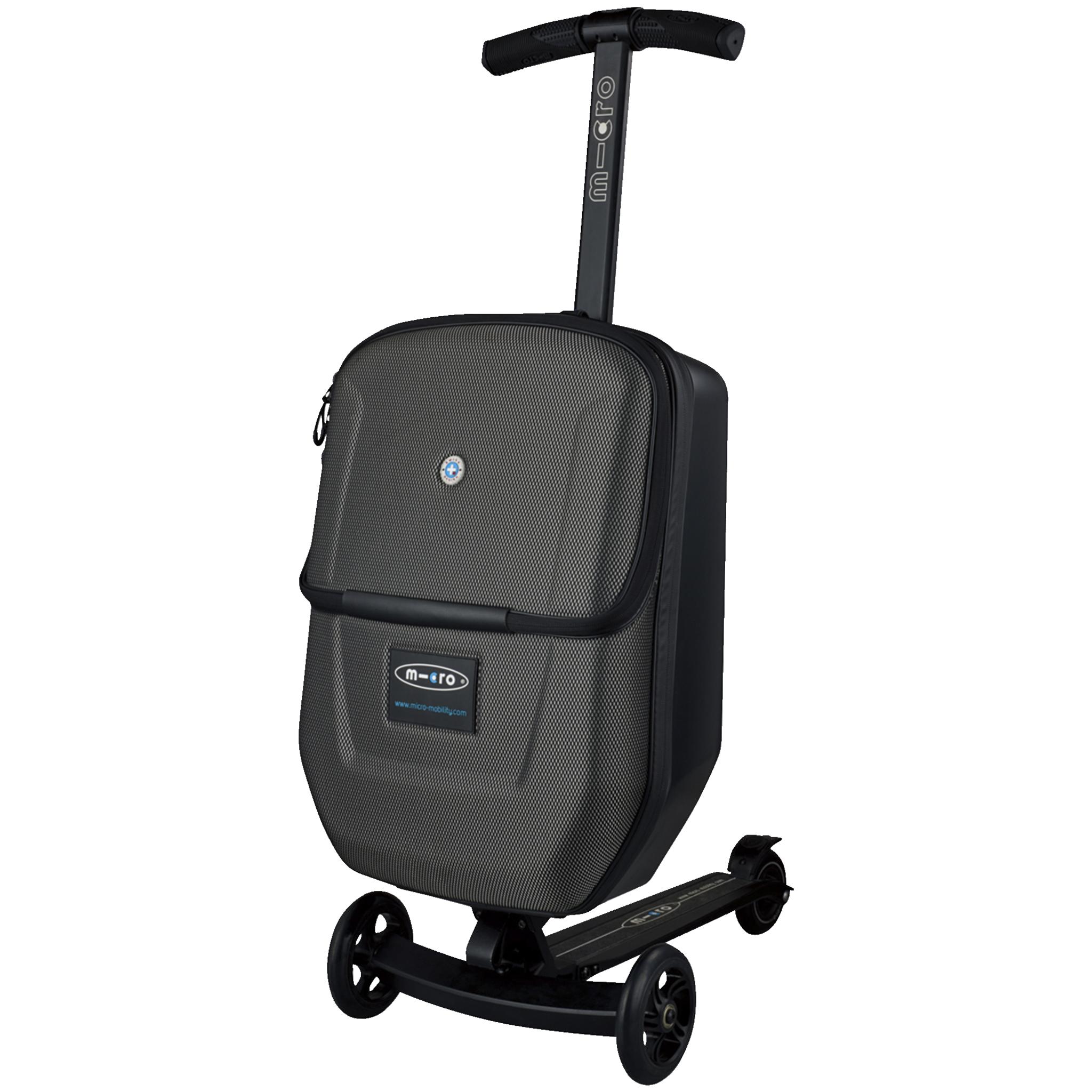 Micro Luggage 3.0, sparkesykkel/reisekoffert