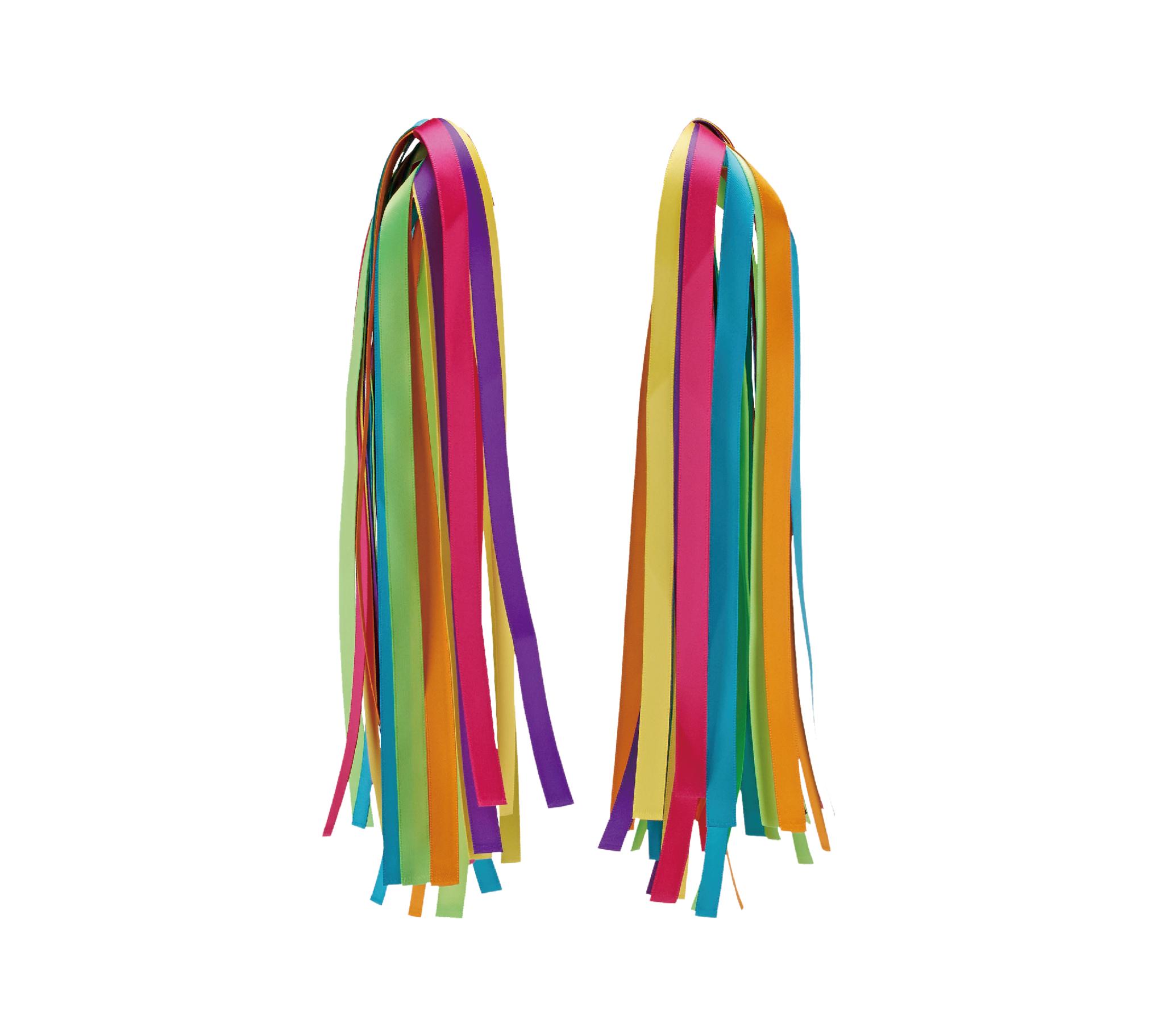 Micro Ribbon rainbow, pyntebånd til sparkesykkel