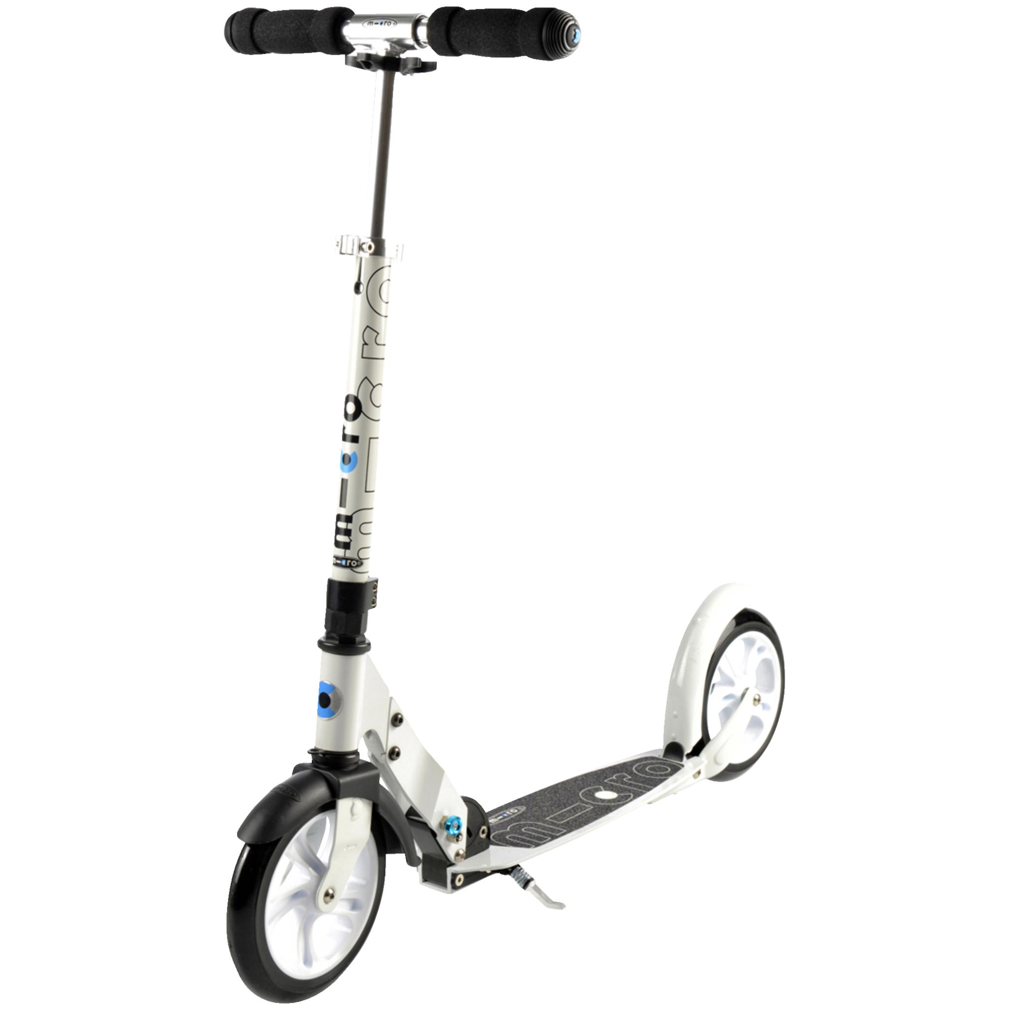 MicroWhite mobilityscooter, sparkesykkel