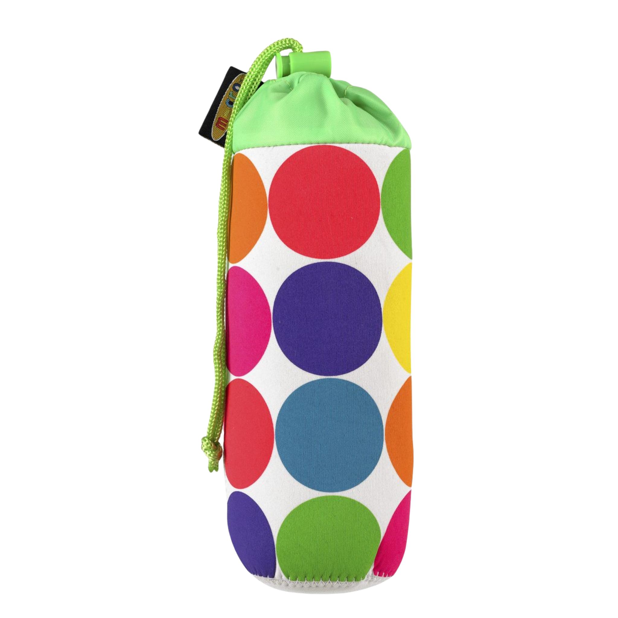 Micro Bottle Holder Neon Dots, drikkeflaskeholder til sparkesykkel
