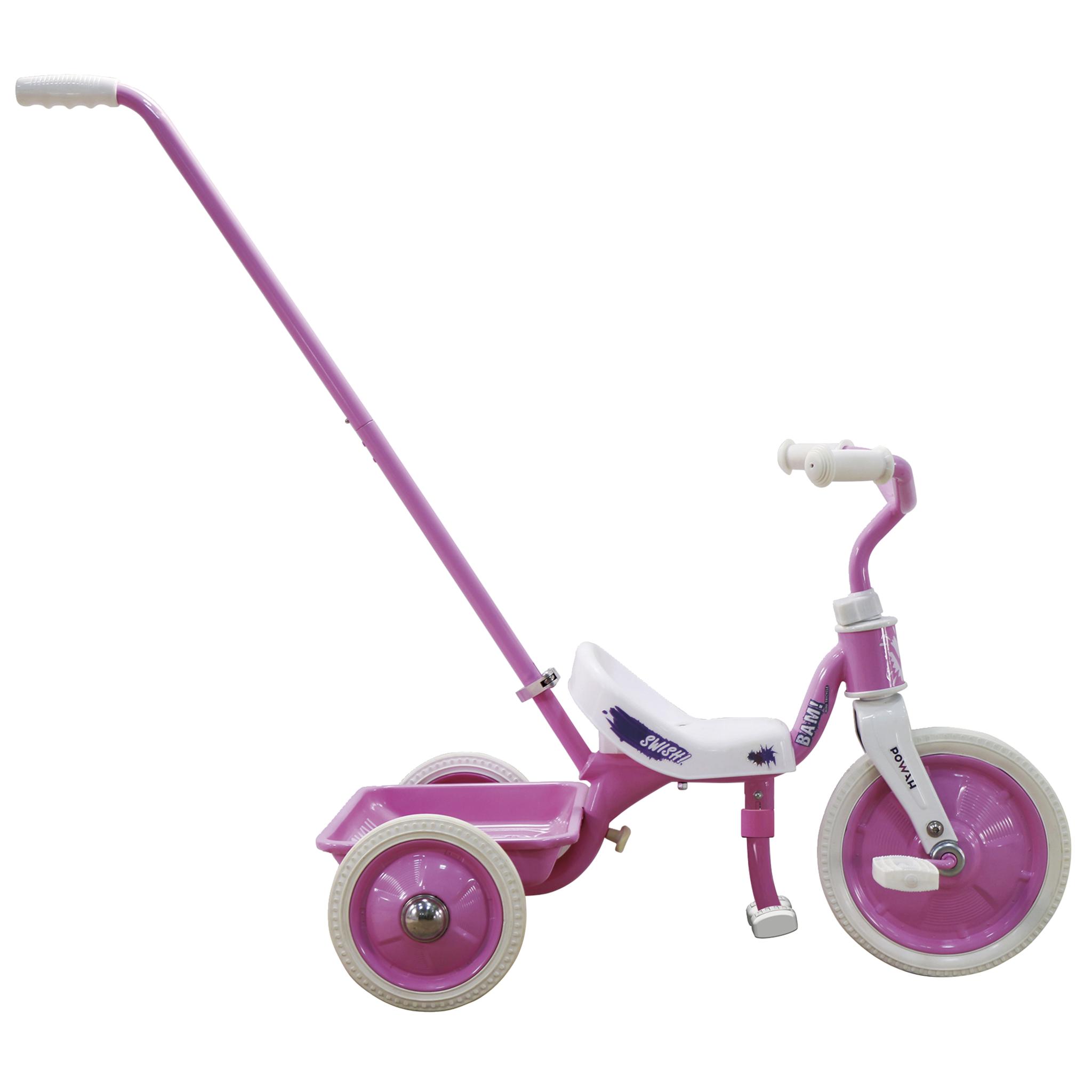 BITS Trio Super Mini Pink, trehjulssykkel, barn