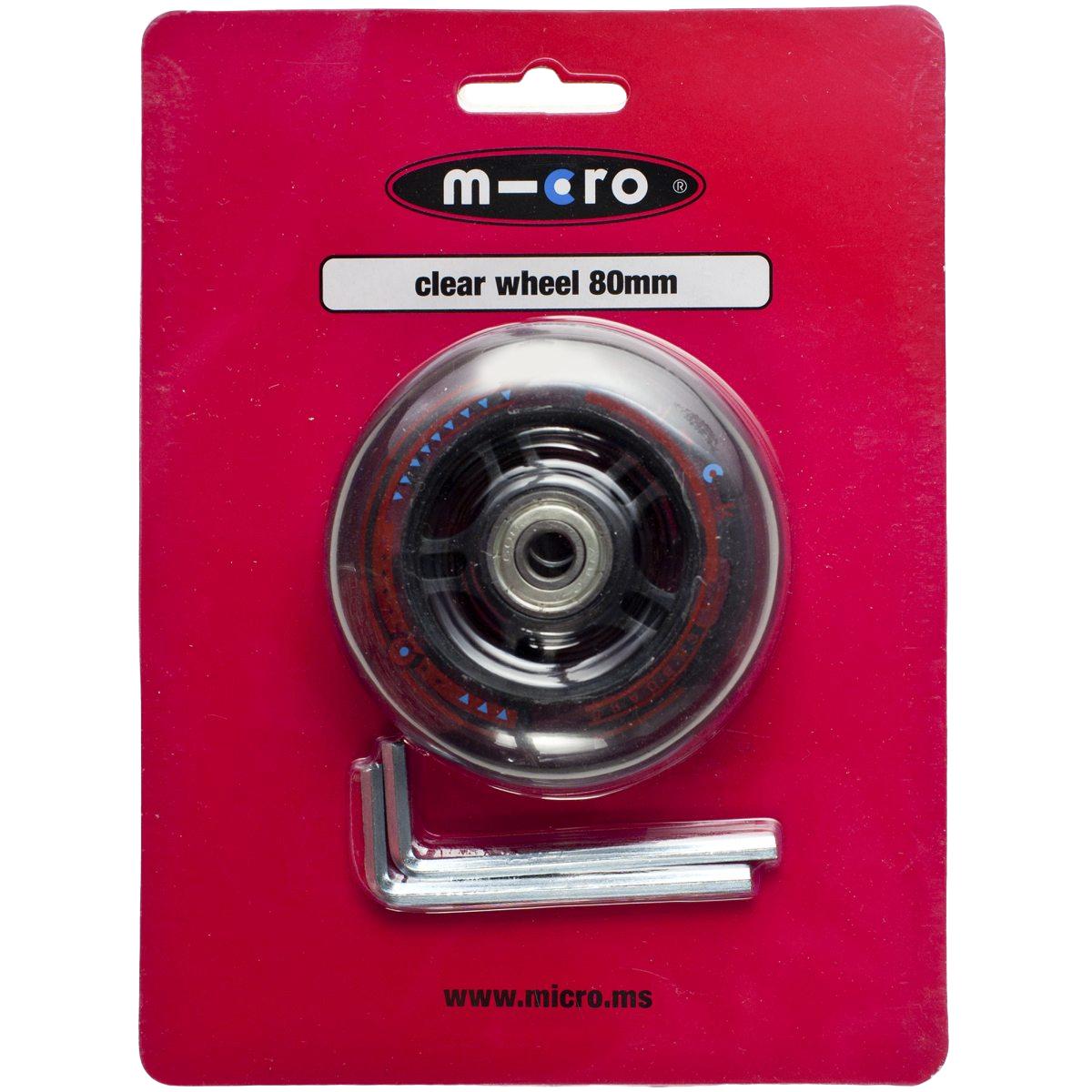 Micro wheel 80mm (Mini, Maxi), sparkesykkelhjul