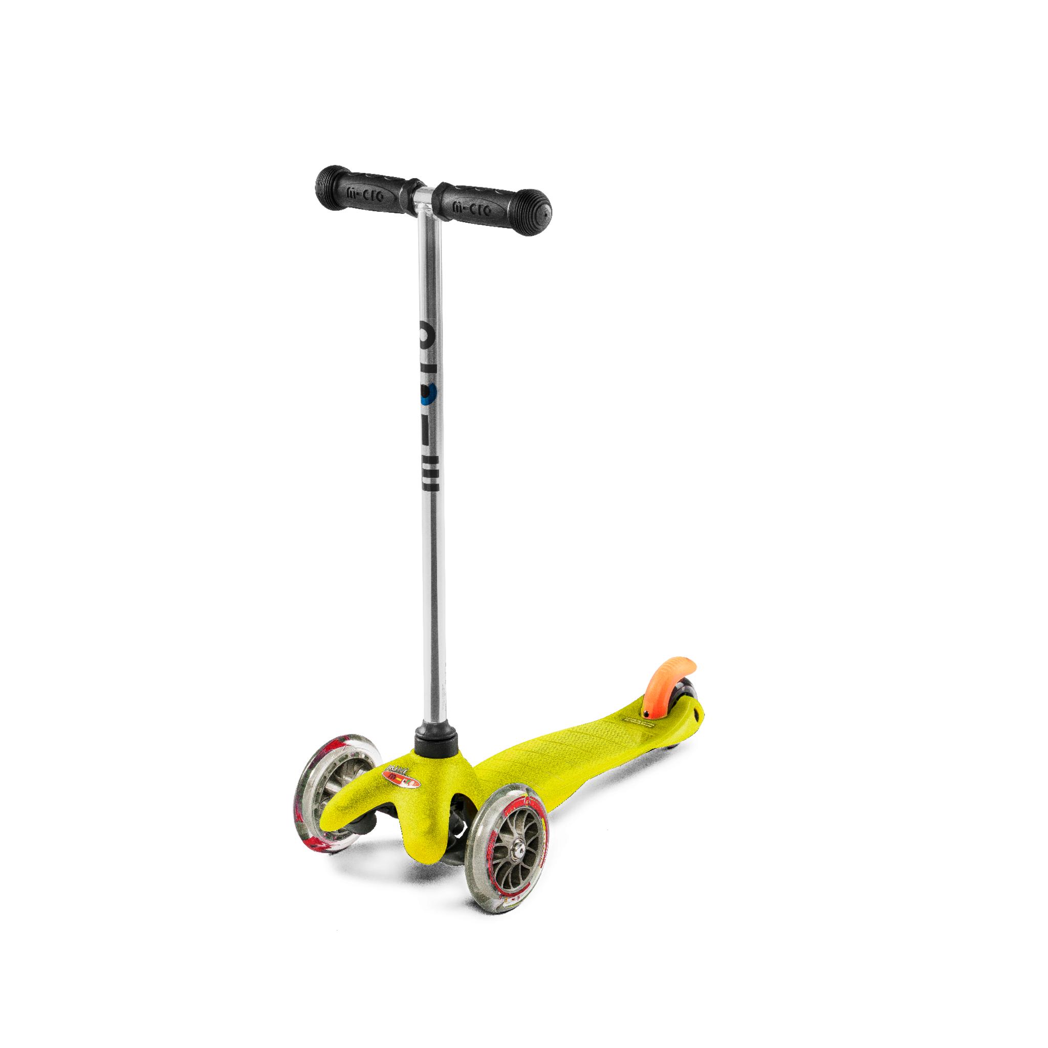 Micro MiniMicro Yellow 3 scooter, sparkesykkel