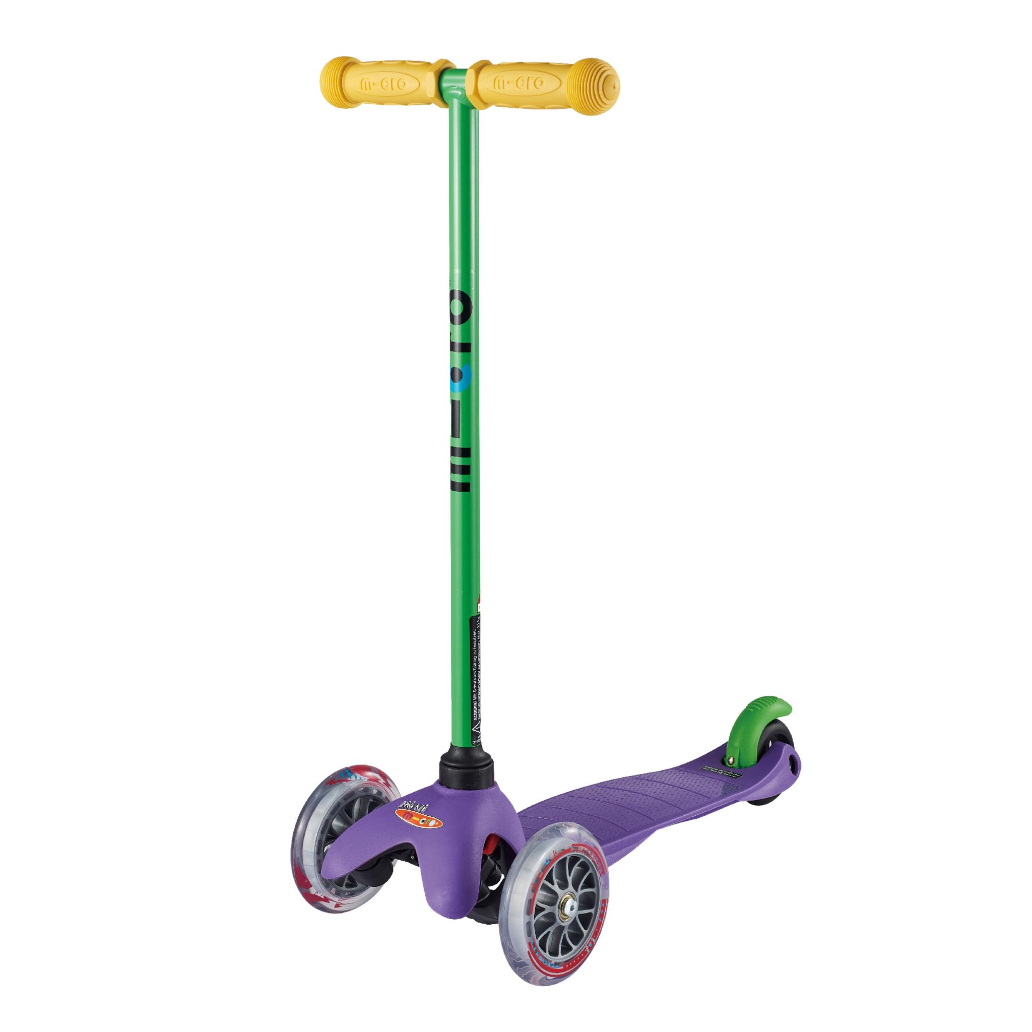 Micro MiniMicro 3 Sporty, sparkesykkel, 2–5 år STD Purple