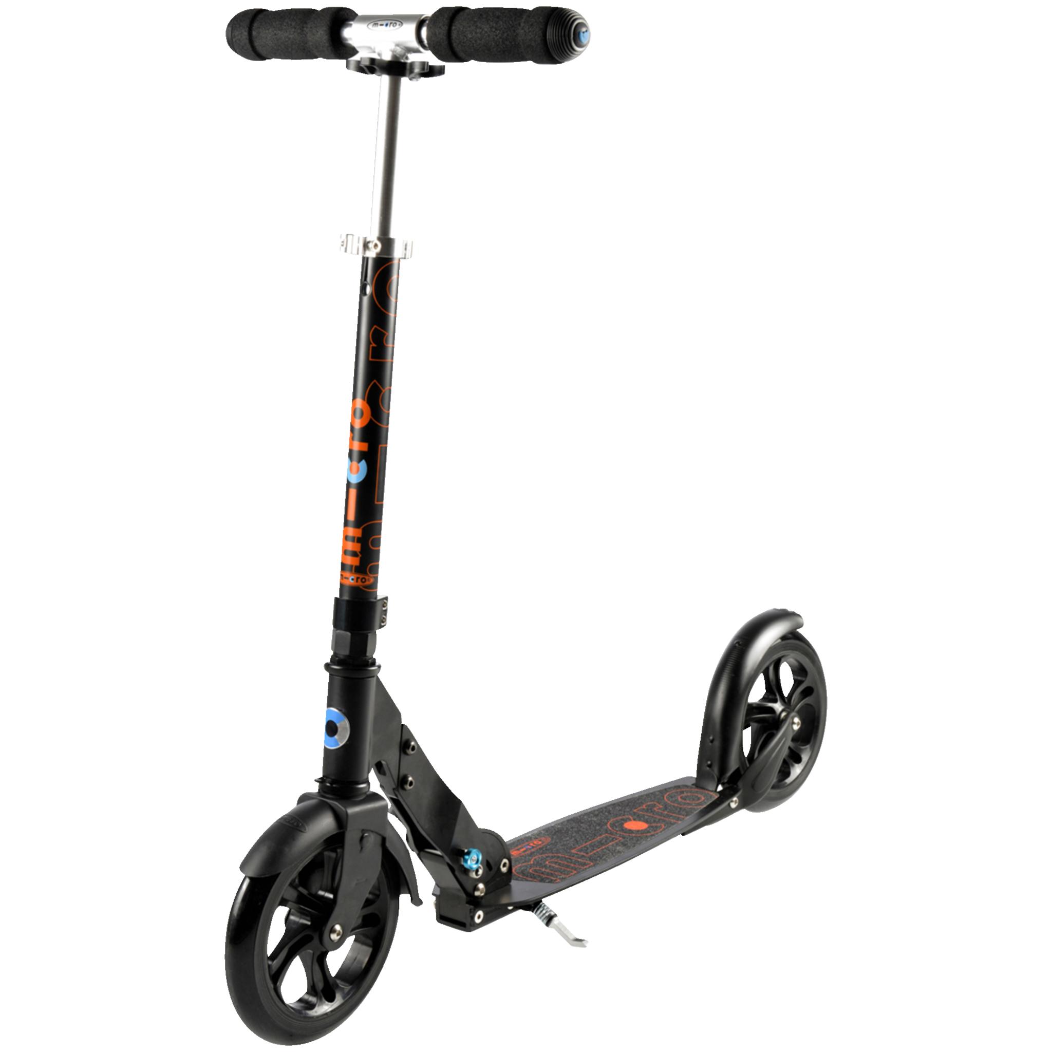Micro Black sparkesykkel STD Black