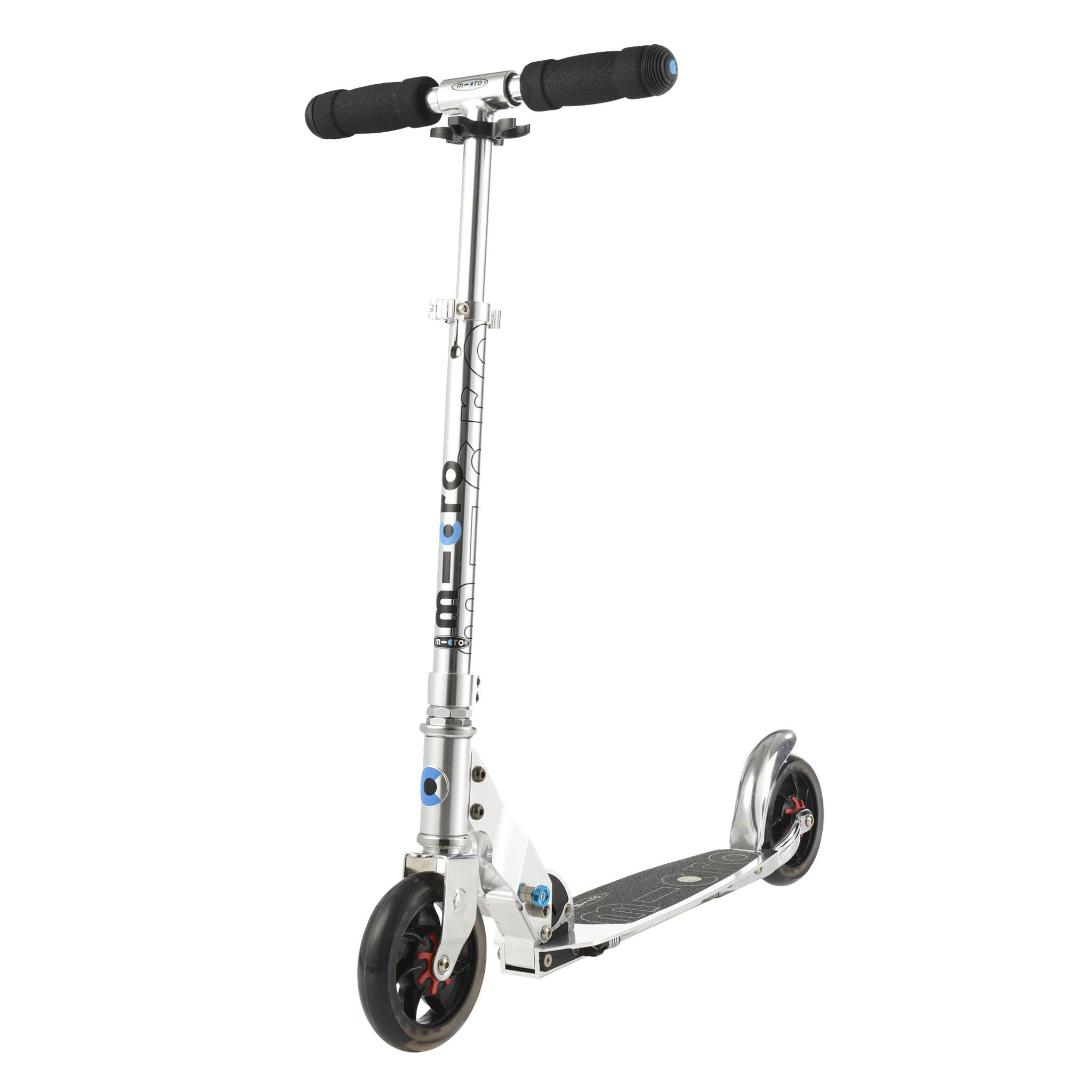 MicroSpeed+ puresilver mobilityscooter, sparkesykkel, ungdom/voksne