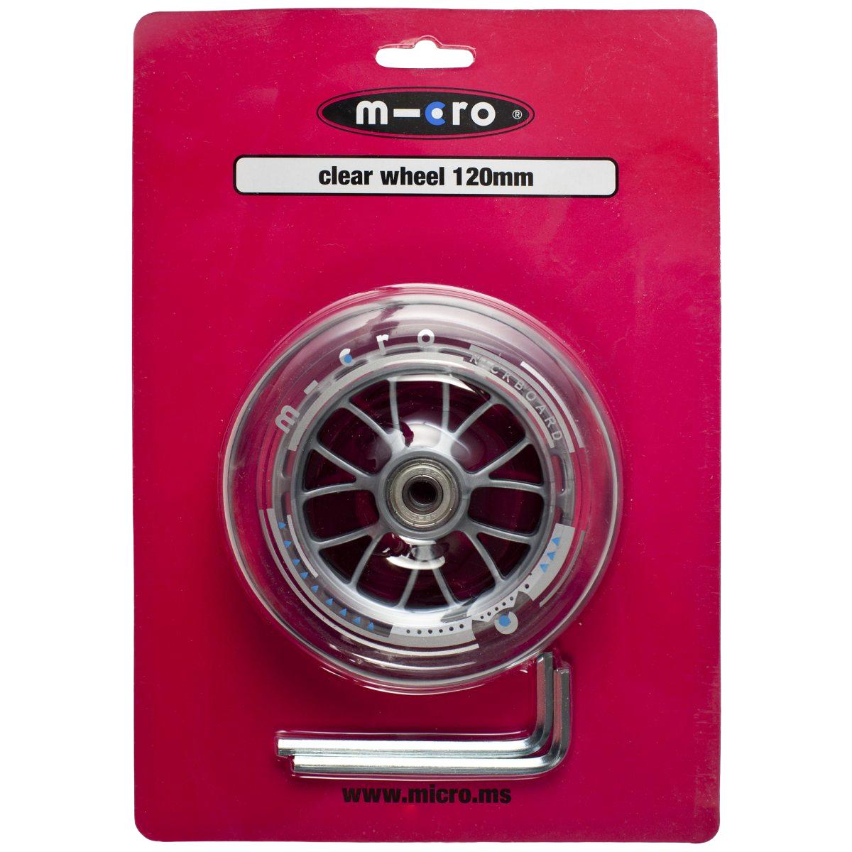 Micro wheel 120mm (Sprite front), sparkesykkelhjul