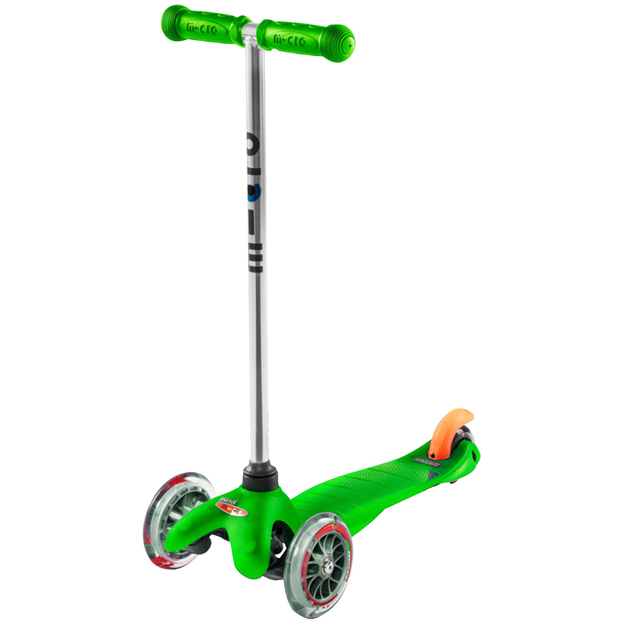 Micro MiniMicro green 3 scooter, sparkesykkel