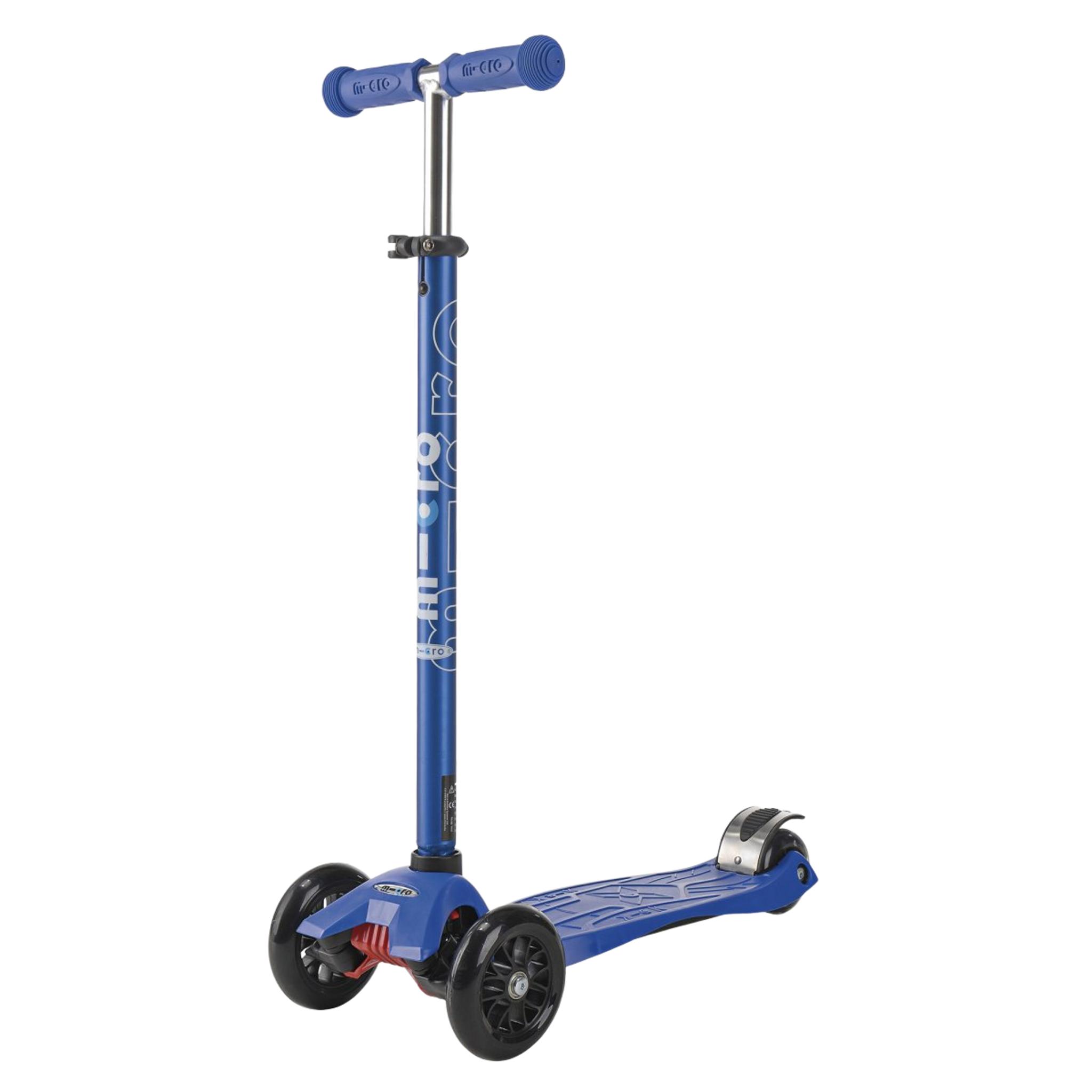 MicroMaxi Blue 3 scooter, sparkesykkel
