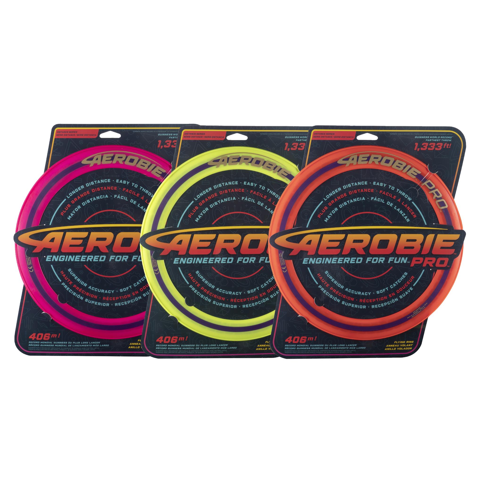 Aerobie Pro ring, frisbee