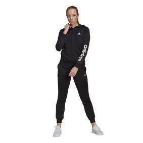 adidas Lin Fit Tracksuit, treningsdress dame L BLACK