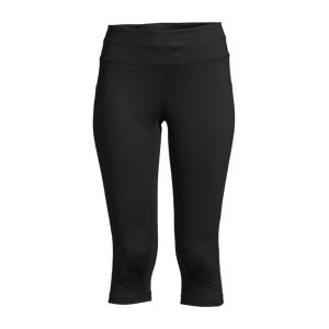 Casall Essential 3/4 Tights, treningstights dame 40 BLACK