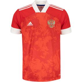 adidas Russia Home Jersey Ec 20/21, fotballtrøye senior S Team Colleg Red